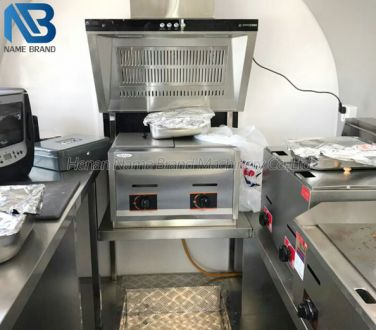 food trailer equipment
