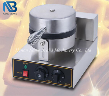 Single head electric waffle machine