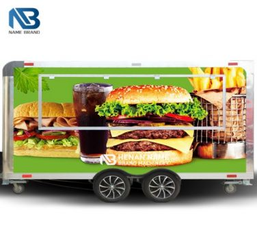 Mobile Burger Food Truck
