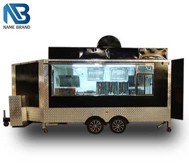 Custom Food Truck to USA